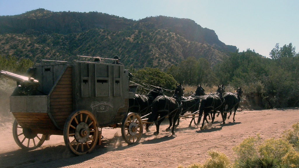 3:10 to Yuma: Armored stagecoach