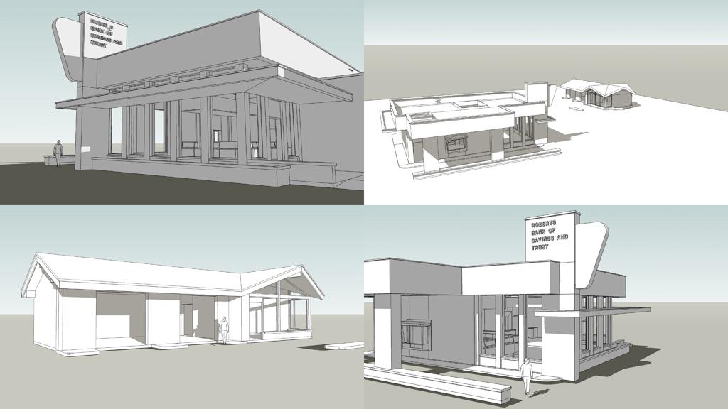 CSGO: de_bank sketchup models