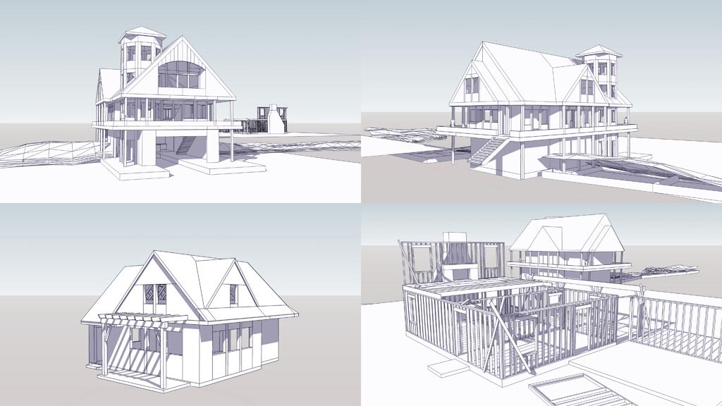 de_lake: Sketchup Models