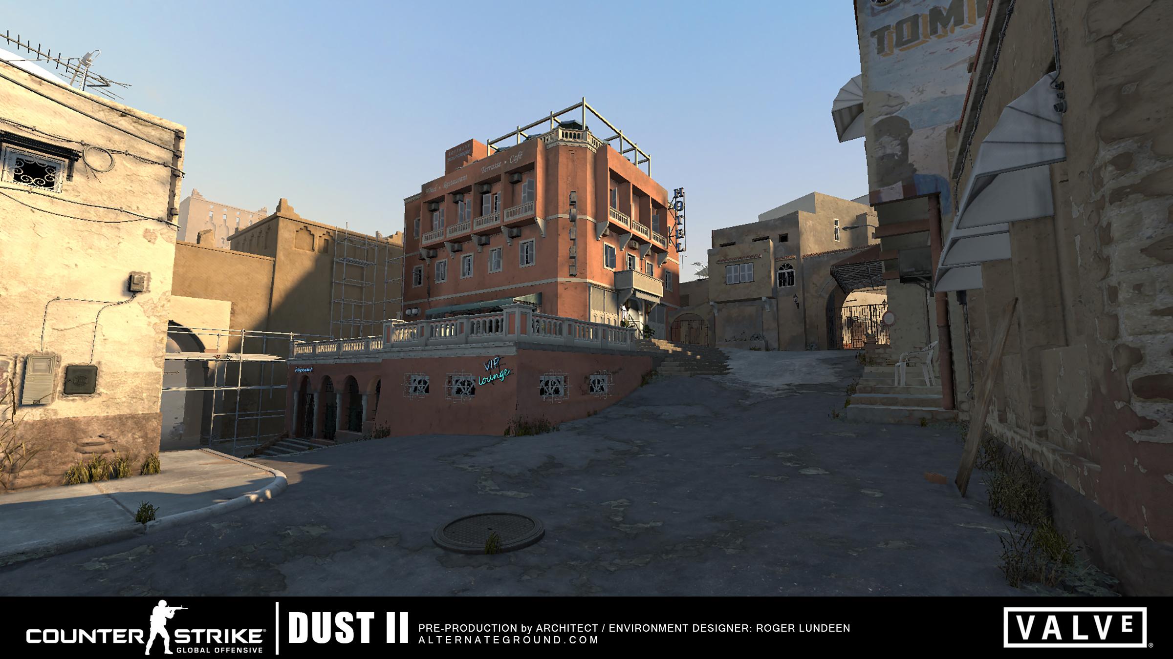 Portfolio of Roger Lundeen » CS:GO de_dust2